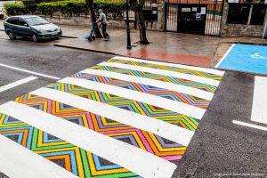 رنگ خط کشی خیابان