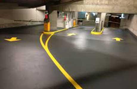 رنگ خط کشی پارکینگ