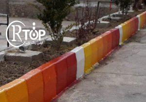 رنگ جداول تهران
